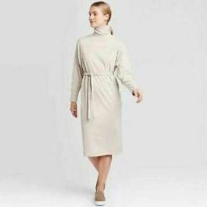 Women's Prologue knit cream heather dress